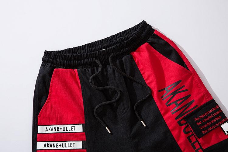 Side Ribbon Zipper Pockets Cargo Baggy Shorts 11