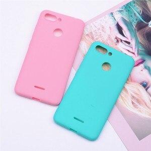 Image 2 - Soft Silicone Case for Xiaomi Redmi 6 Cover TPU Back Phone Cases for Xiaomi REDMI6 Redmi 6 Case Shells for xiaomi redmi 6 Fundas