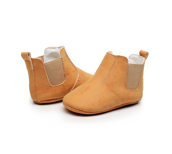 2019 New Lovely Baby Boots New Cute Baby Moccasins Handmade Infants Fashion Boot 9 Colors Baby Girl Shoes Bebe Boy First Walkers