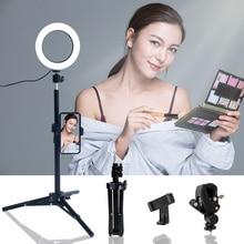 "Walkingway 6 ""การถ่ายภาพแสง LED Selfie Light Ring Light YouTube Live Video Makeup Photo Studio Light USB Plug"