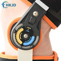 Medical Orthosis Adjustable Hinged Knee Support Fixator Aluminum Stabilizer Support For Knee Joint Loose Ligamentous Injury