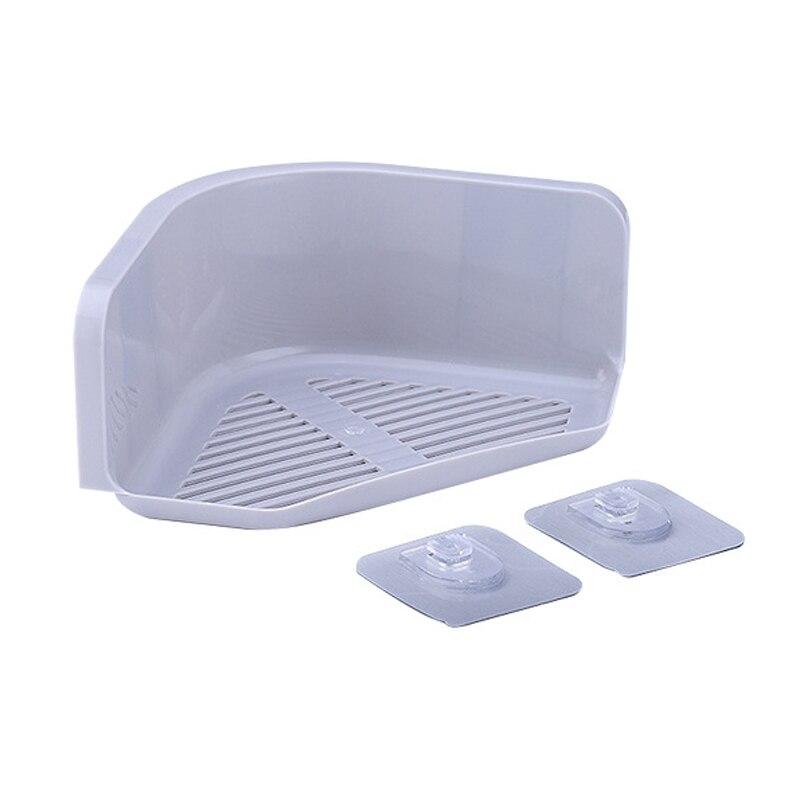Hot Sale Plastic Bathroom Corner Storage Rack Organizer Suction Cup