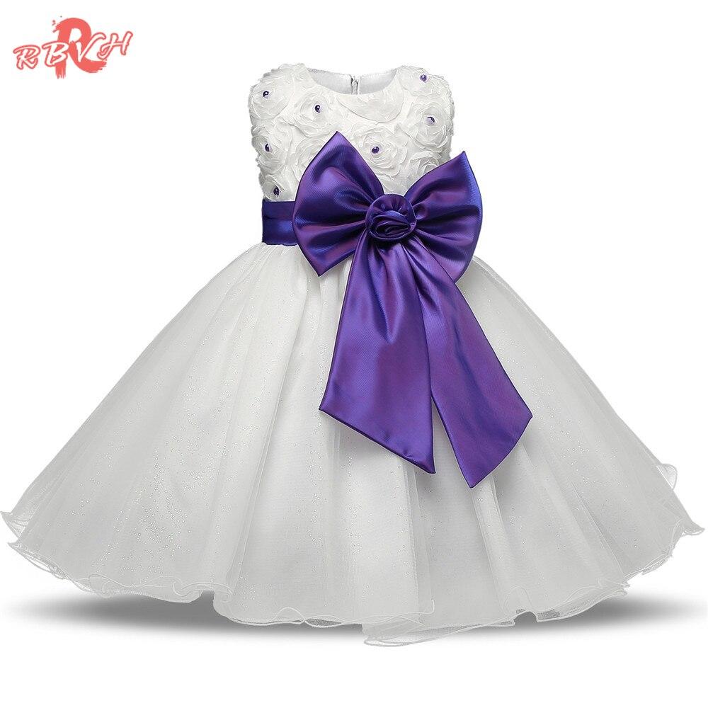 Rbvh bebé eventos fiesta diseños esponjoso vestido niña vestido de ...