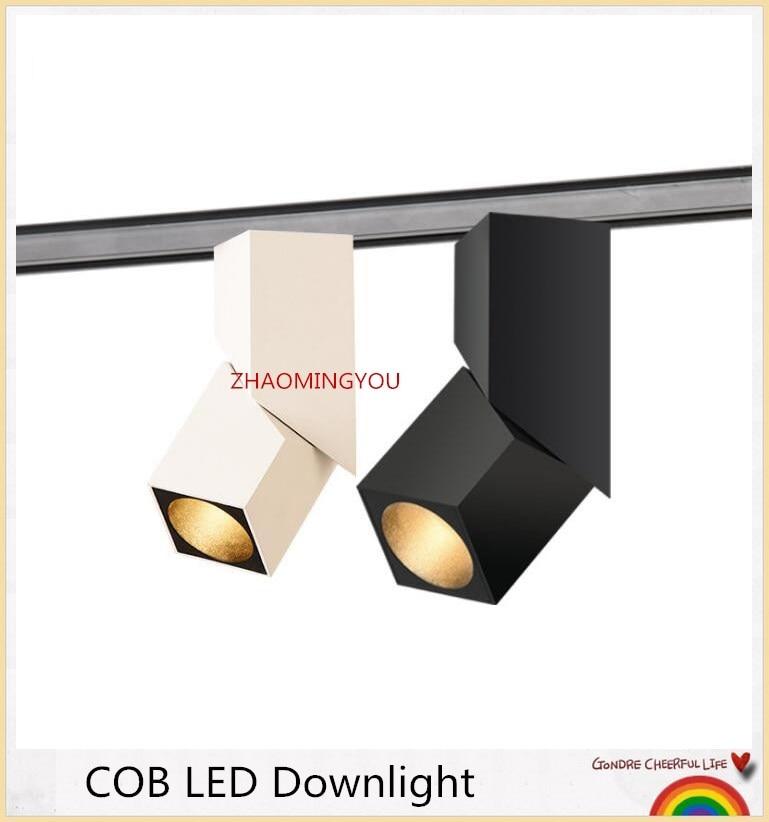 fashion Art cube Ceiling Surface Mounted RA93 6W 10W 14W 20W 24W 30W COB LED Downlight