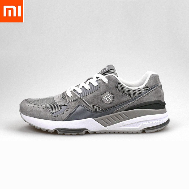 4 colors original xiaomi mijia FREETIE90 retro sports shoes breathable wear-resistant shock mens sports shoes casual shoe Smart4 colors original xiaomi mijia FREETIE90 retro sports shoes breathable wear-resistant shock mens sports shoes casual shoe Smart