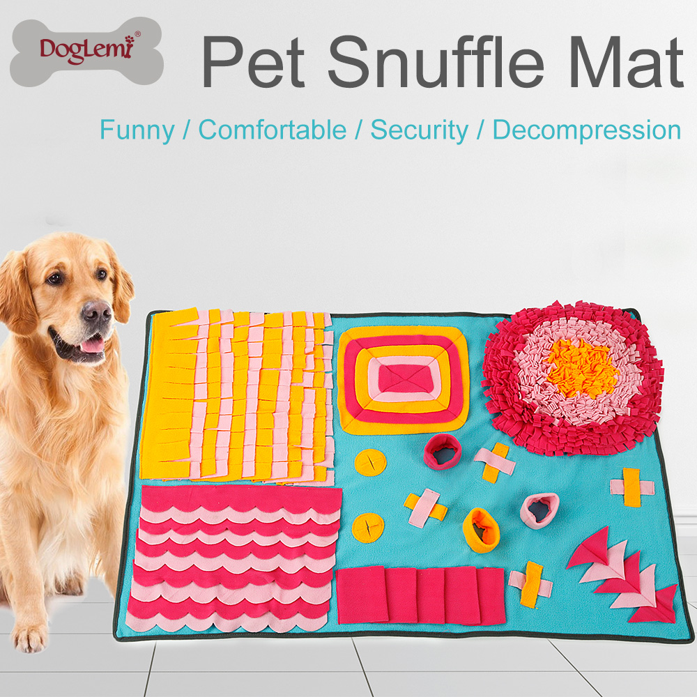 Dog Training Placemat: Pet Dog Cat Snuffle Smell Mats Feeding Food Pad Nosework
