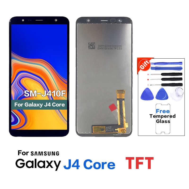 الأصلي لسامسونج J4 النواة J410 SM-J410F عرض lcd شاشة قطع غيار سامسونج J4 النواة SM-J410FN J410G عرض lcd شاشة