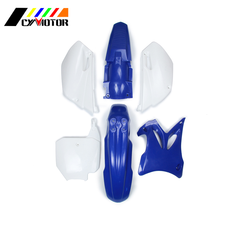 Motocycle Plastic Body Kit Fairing Front Rear Fender Mudguard For YZ85 YZ 85 02 03 04 05 06 07 08 09 10 11 12 13 14 2002-2014 plastic motorcycle body kit for yamaha yz85 2002 2014 motocross dirtbike supermoto enduro page 1 page 2