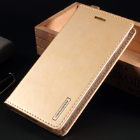 For Galaxy J3 2016 Leather Phone Cases MERCURY GOOSPERY Blue Moon Stand Leather Cover For Samsung