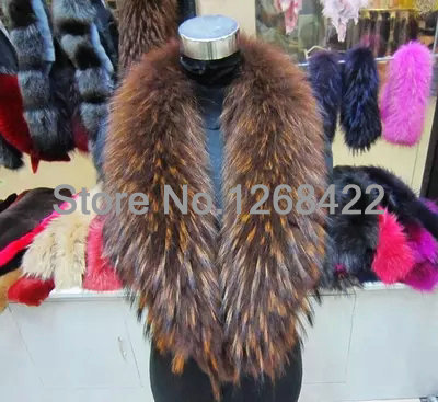 Free shopping 2014 coat collar Import raccoon fur shawl collar  Square collar  scarf collar article cap gm coffee specials
