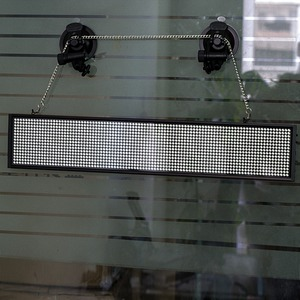 Image 5 - Smart Wireless Led Sign Android iOS Program Message Board Multi Language Display Screen 50cm Red Message 1536 LEDs