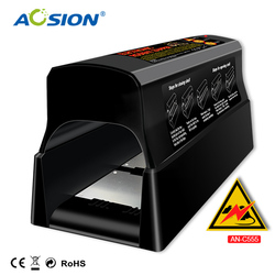 Envío Gratis hogar baterías de Aosion y adaptador operado control de Plagas ratón eléctrico ratones mata ratas trampa