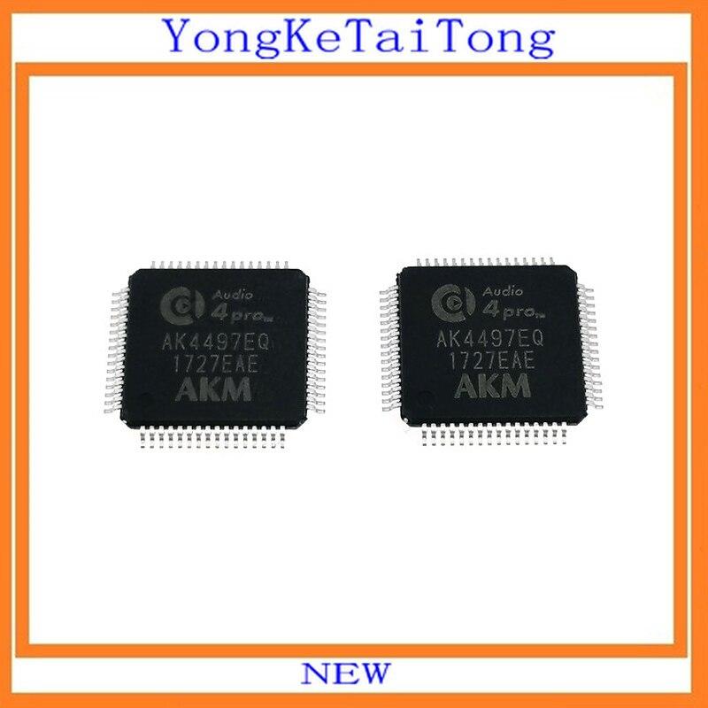 2 PCS/LOT AK4497EQ AK4497 4497 QFP64 IC