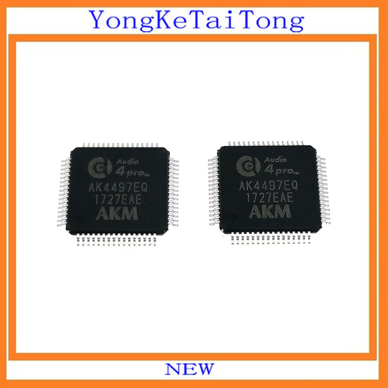 2PCS/LOT AK4497EQ AK4497 4497 QFP64 IC2PCS/LOT AK4497EQ AK4497 4497 QFP64 IC