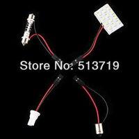 2014 новый ксенон белый 15 SMD; Автомобильные светодиоды свет лампы Панель T10 купольная лампа BA9S адаптер Освещение багажного отделения стайлинг