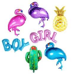 1 шт. Птица/ананас/Кактус покрытые фольгой шары Дети Классические игрушки для детей