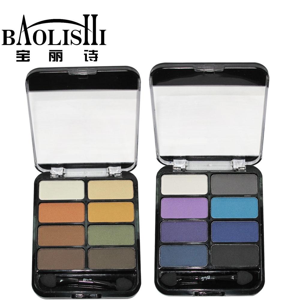 baolishi keyfiyyətli peşəkar 8colors Çılpaq göz kölgəsi - Makiyaj - Fotoqrafiya 4