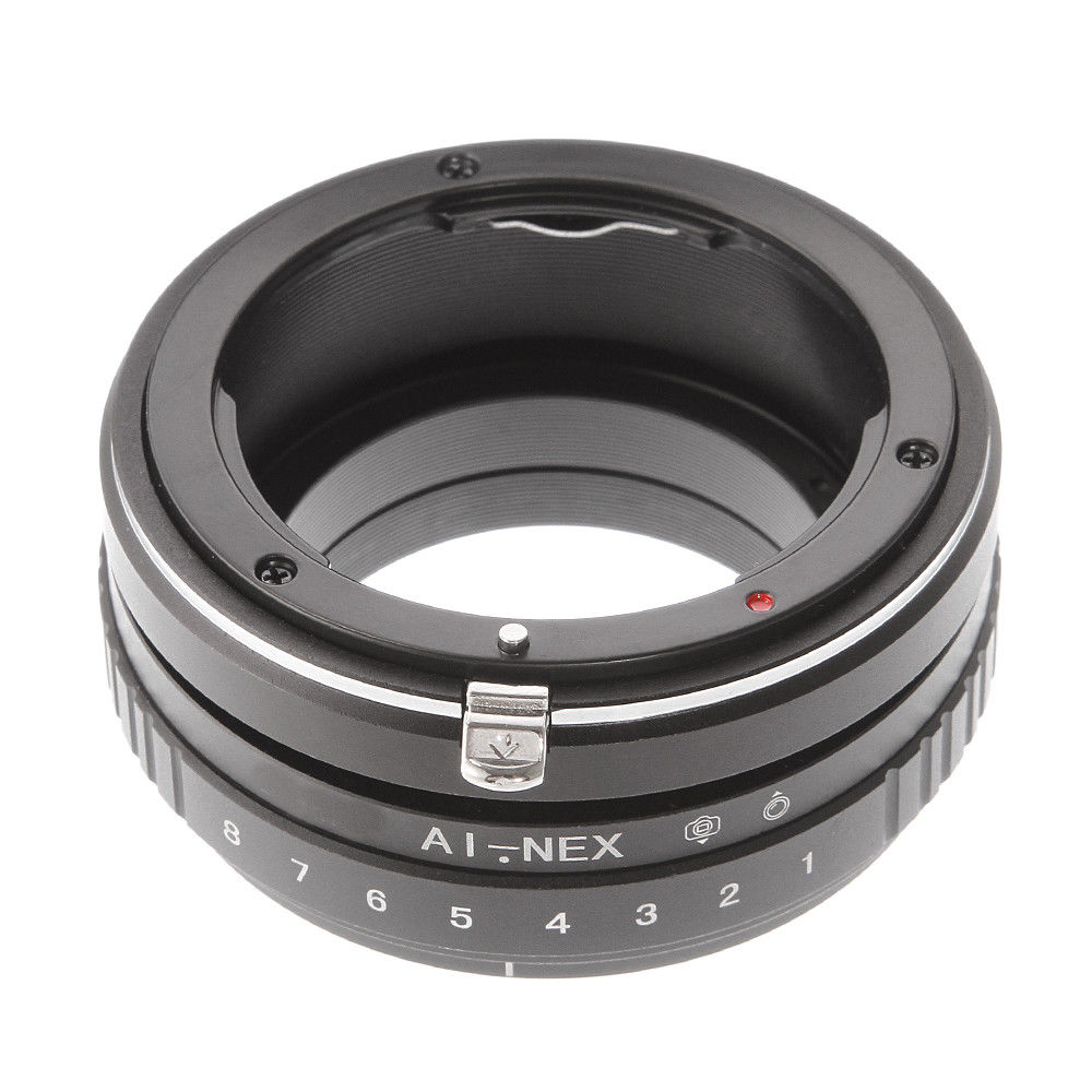 купить Tilt Shift Adapter Ring for Nikon AI F Lens to Sony E Mount NEX-5N 5R 5T a7 a7R a7S NEX-VG10 Camera по цене 1423.23 рублей