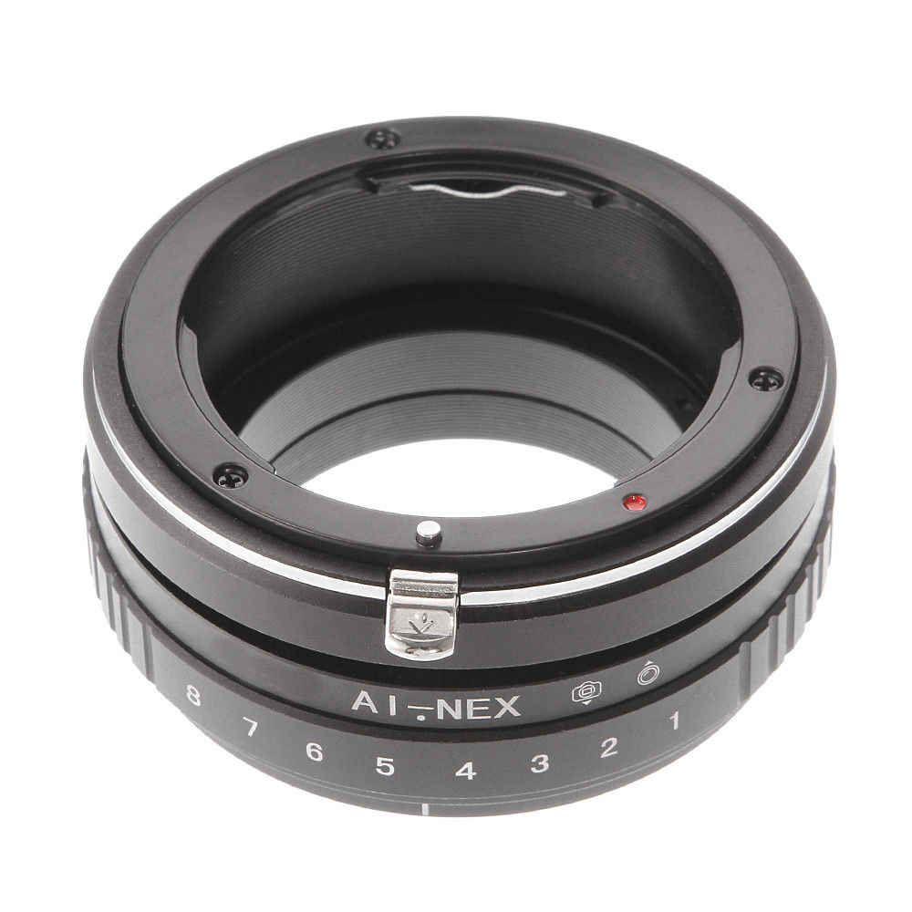 Tilt Shift อะแดปเตอร์สำหรับเลนส์ Nikon AI F Sony E Mount NEX-5N 5R 5 ครั้ง a7 a7R a7S NEX-VG10 กล้อง