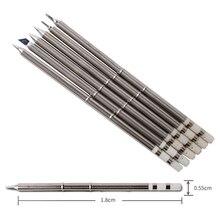 Hohe qualität T13 lötkolben spitze stachel Verschiedene modelle haltbar bleifreie soks Geeignet für BAKON 950D löten eisen original