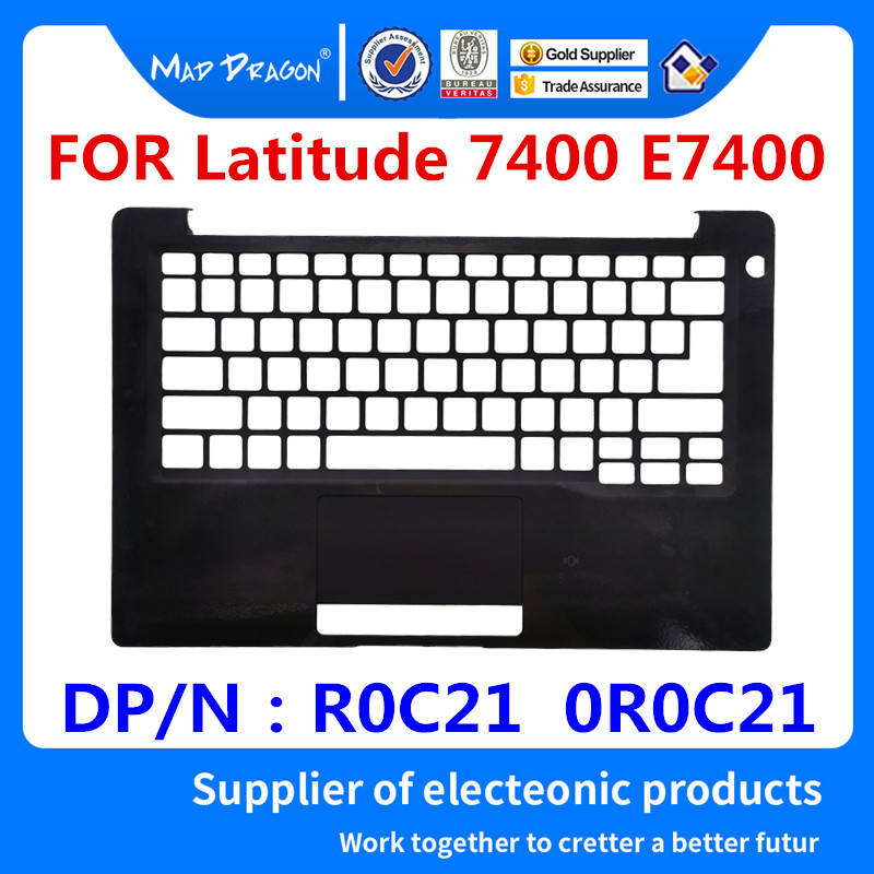 Nouveau housse de protection pour ordinateur portable d'origine coque supérieure noir C pour Dell Latitude 7400 E7400 R0C21 0R0C21 AP2EB000110