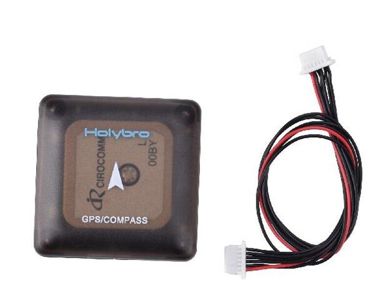 HolyBro Micro NEO-M8N Mini FPV Modulo GPS APM PIXHAWK UBLOX Alta precisione M8N Bussola GPS Con 6 P Cavo Per FPV RC Ricambi