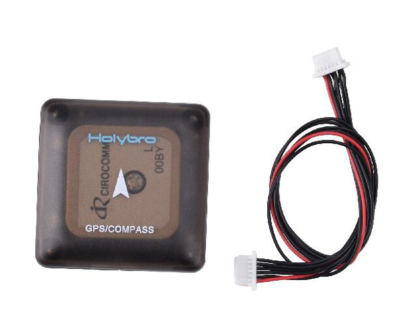 HolyBro Micro UBLOX NEO-M8N Mini FPV GPS Module APM PIXHAWK High Precision M8N GPS Compass With 6P Cable For FPV RC Parts neo 6m ublox u blox gps module for mwc apm