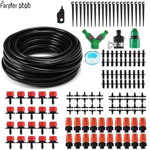 Drip-Irrigation-System Dripper Self-Watering-Kits Garden Micro Automatic Adjustable 30m