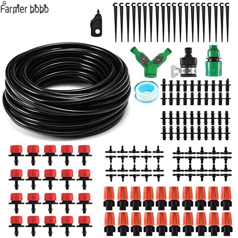 Clip Clamp and Nail for Micro Irrigation Cable Pipe 4mm//6mm Tubing Fixing Garden