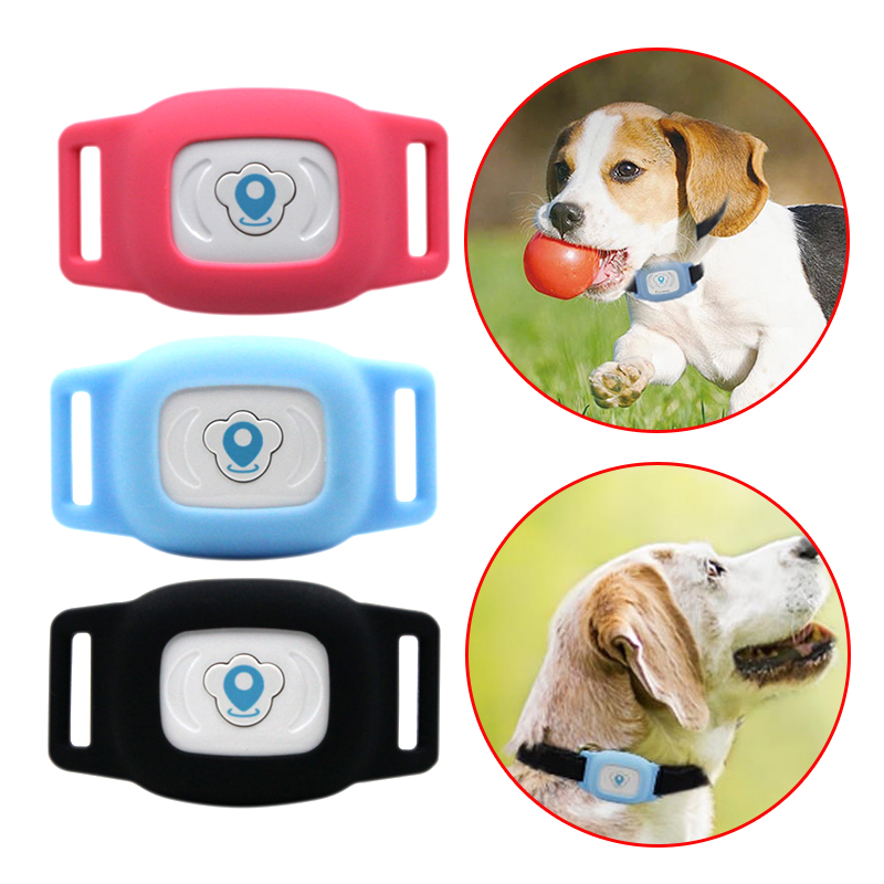18c931b54 Cheap Inteligente impermeable IP67 mascotas GPS AGPS LBS de seguimiento  MiNi rastreador Collar para perro gato