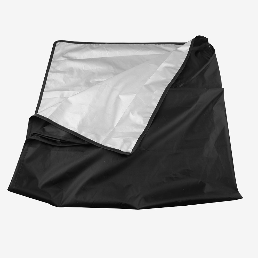 Image 2 - Car Sunshade With Magnet To Avoid Sunlight Rain Ice  Snow Protection Front Windshield With Storage Bag-in Windshield Sunshades from Automobiles & Motorcycles