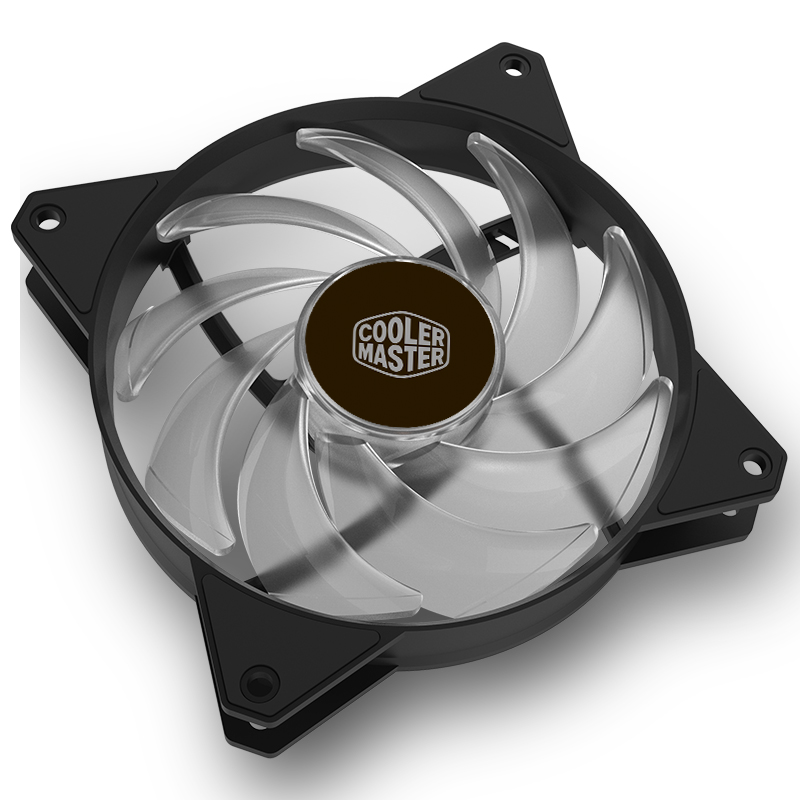 US $19 2 40% OFF|Cooler Master MF120 ARGB 12cm RGB Computer Case PC Cooling  Slient Fan For CPU Cooler Radiator Water Cooling 120mm PWM Quiet Fan-in