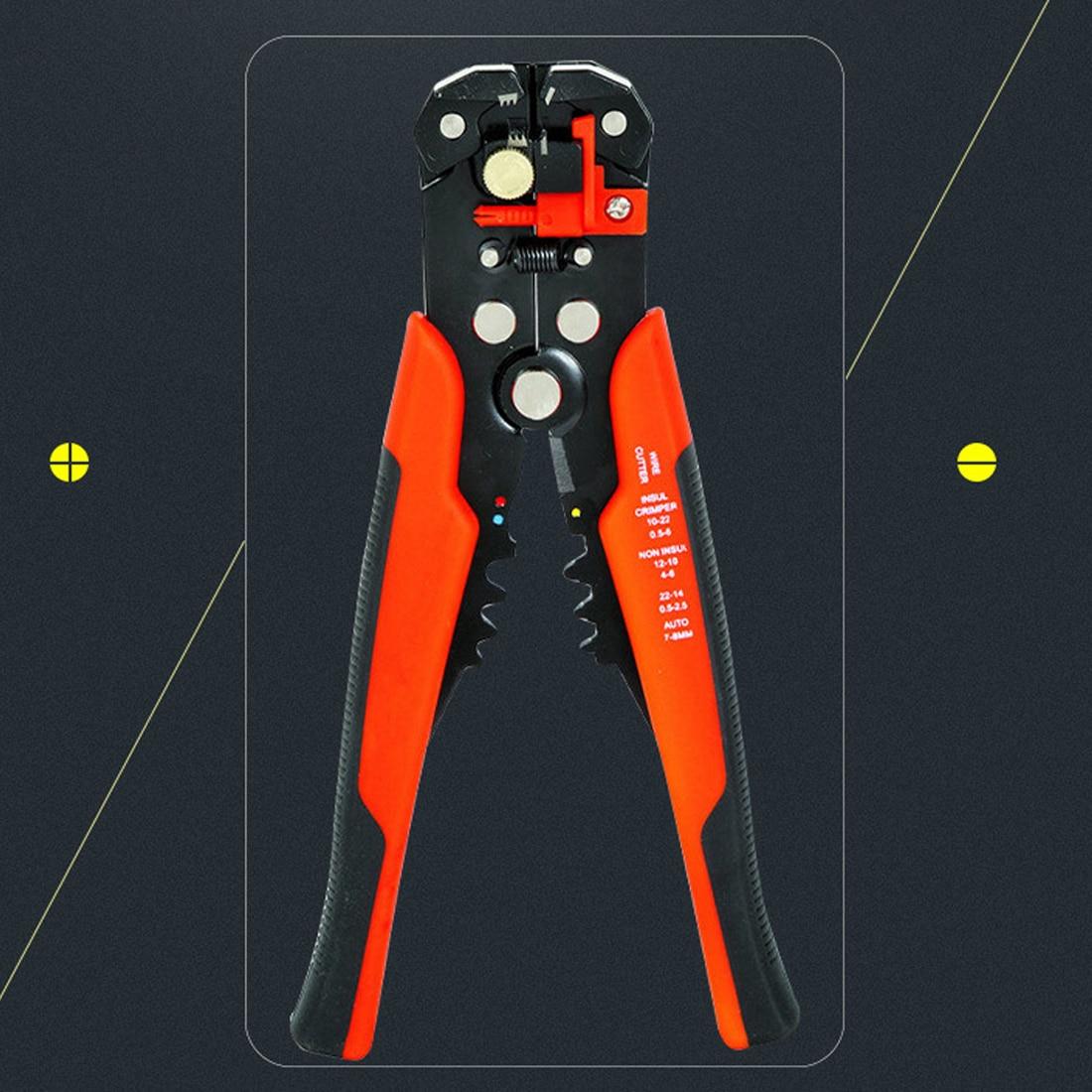3 in 1 Automatische Kabel Draht Stripper Cutter Crimpen Zange ...