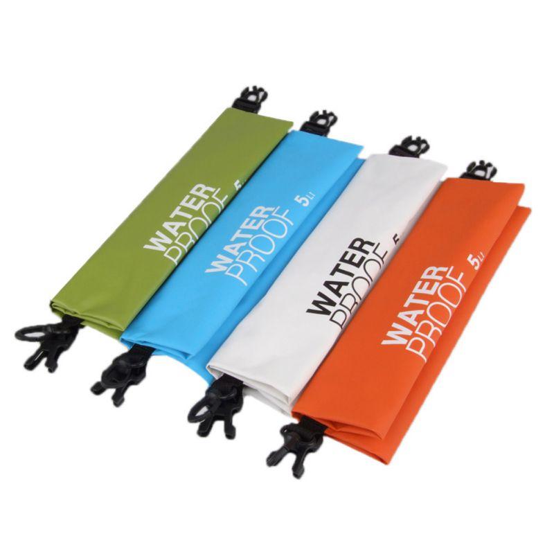 5L Ultralight Portable Rafting Waterproof Dry Storage Bag Swimming Bags Travel Camping Outdoor Kits Storage Bags