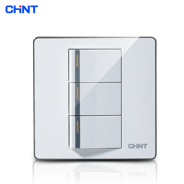 CHINT Light Switch Plate 120 Type Switch Socket NEW9E 86 Type Panel ...