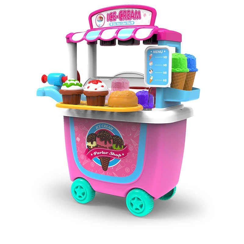 Kid's Play Set Food Stand Pretend Play Food Making Toy