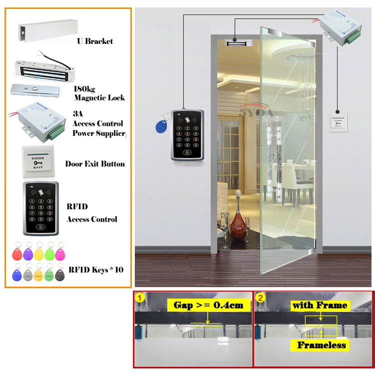 Aliexpress Buy Rfid Access Control System Kit Wooden Glasses