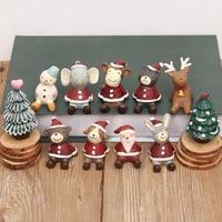 Mini Starlight Xmas İzle Gökyüzü Hayvan Mobilyalar Ofis Masaüstü Dekorasyon Noel Baba Yaratıcı Yüksek Kalite Koleksiyonu L754