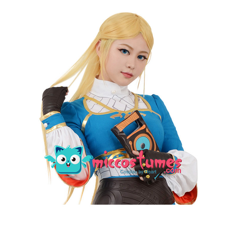 Synthetic Wig The Legend of Zelda Breath of the Wild Princess Zelda Cosplay Wig