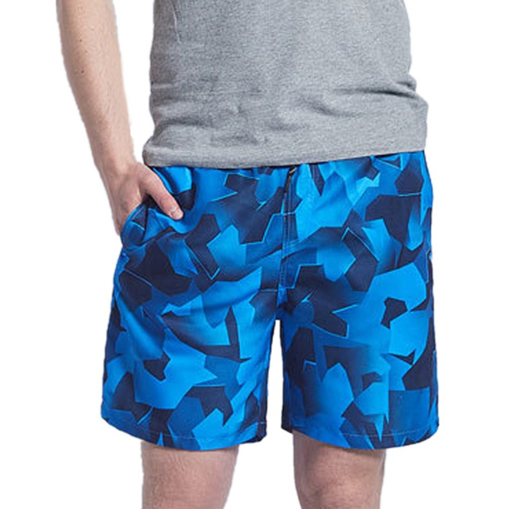 Summer   Board     Shorts   Casual Solid Mid Men's Beach   Shorts   Fashion Printed Waist Straight Drawstring   Shorts   Men Plus Size 19FEB2