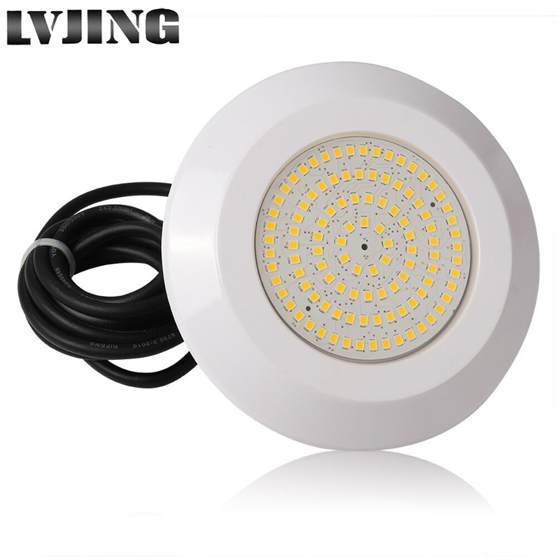 Swiming Pool Light Underwater Resin Filled Pool Light Led 12W DC 12V Outdoor Indoor Spotlight Waterproof IP68 Surface Pond Lamp