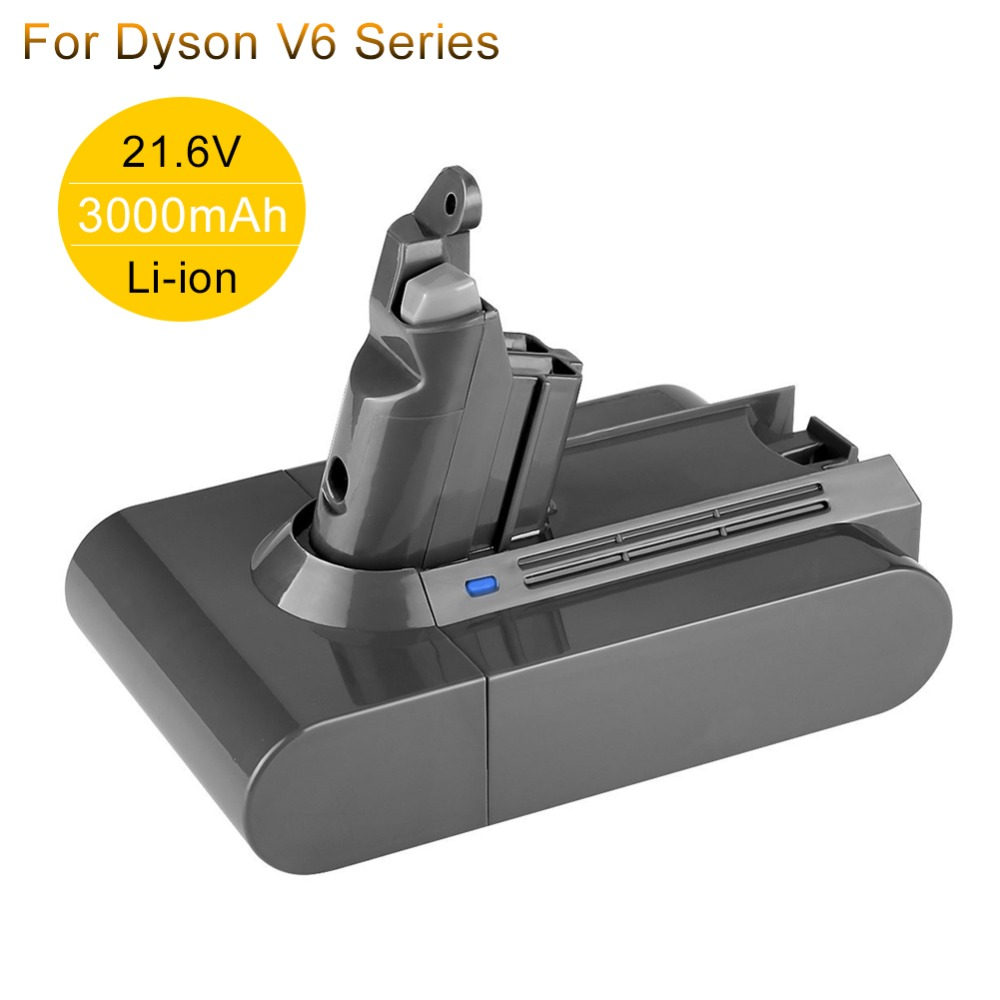 Batterie Rechargeable 21.6 V 3A Li-ion aspirateurs batteries de remplacement pour Dyson V6 DC58 DC59 DC61 DC62 SV05 SV07 SV09 SV06