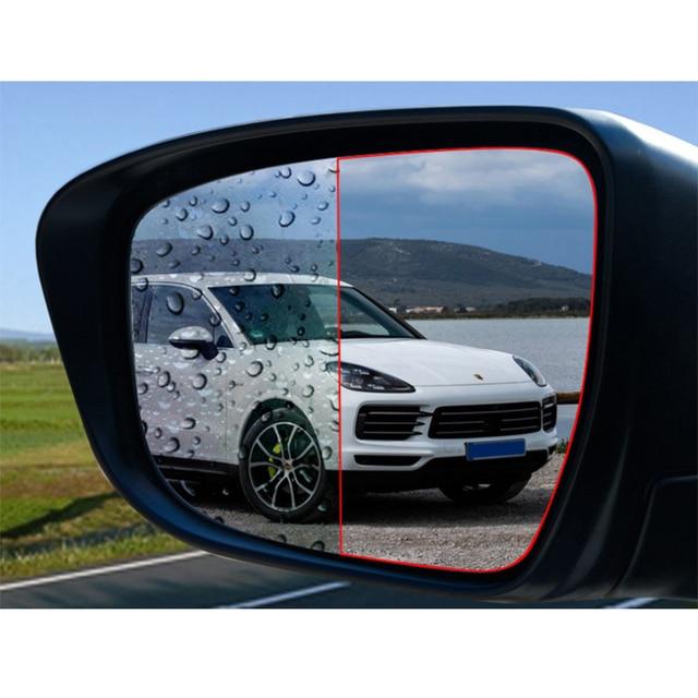 KobraMax Car Rearview Mirror Waterproof Film for Porsche Cayenne /Macan /Maca Car Special Rearview Mirror Rain Waterproof 1pcs