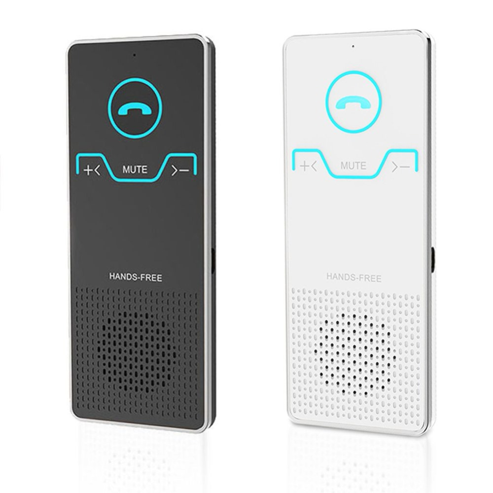Wireless Handsfree Bluetooth Car Kit Sun Visor Handsfree Speaker Speakerphone Car Audio MP3 Player Voice Broadcast