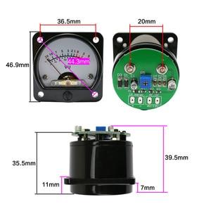 Image 5 - GHXAMP VU Meter Buizenversterker 45mm Pointer LED Level Meter met Achtergrondverlichting voor 3 W 50 W Audio versterker Radio Gal Machine DIY