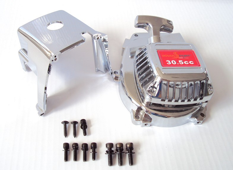 Engine Cover Set with Chrome plated (pull starter+cylinder cover+side cover+screws),free shipping 85108