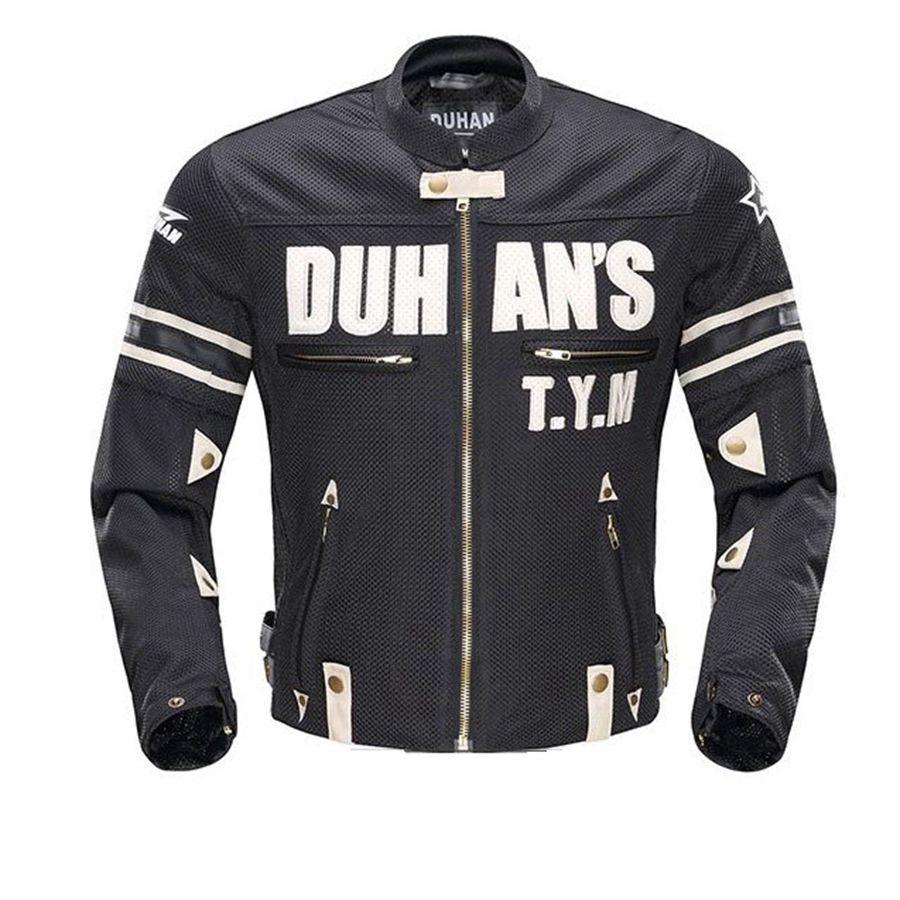 O envio gratuito de 1 pcs novos homens da motocicleta armadura equitação roupas ternos de corrida de moto moto jaqueta de couro pu com 5 pcs almofadas