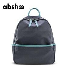 Abshoo новые женские нейлоновая сумка модные летние Водонепроницаемый нейлон Рюкзаки для Женщина Черный Сумки женские мини-рюкзак