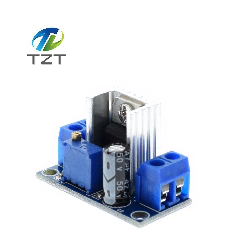 Pcs Lm Adjustable Voltage Regulator Power Supply Lm Dc Dc Converter Buck Step Down Circuit Board on Lm317 Adjustable Voltage Regulator