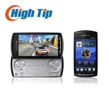 Оригинальный разблокирована sony ericsson xperia play r800 r800i zli 3 г 5mp камера wifi gps android сотовый телефон игры телефон восстановленное
